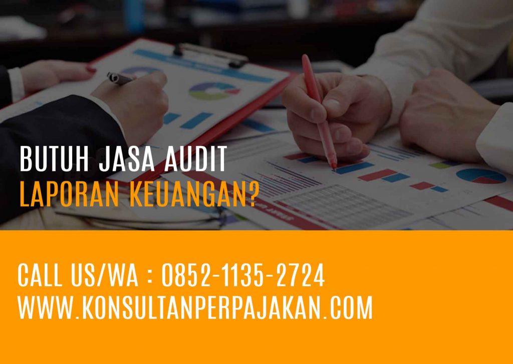 Jasa Audit laporan keuangan